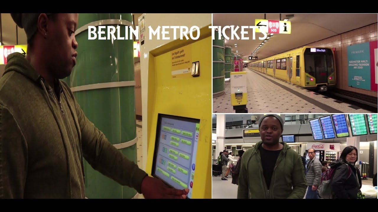 Berlin how to buy metro bus tickets and get to the city from