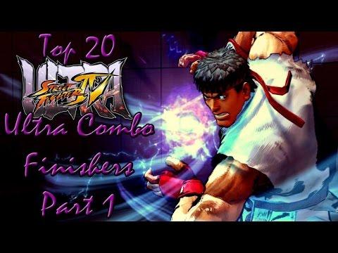Top Twenty Ultra Street Fighter IV Ultra Combo Finishers (Part 1)