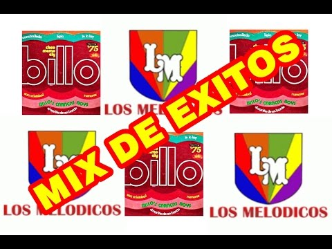 LOS MELODICOS Y LA BILLOS CARACAS BOYS MIX   Exitos