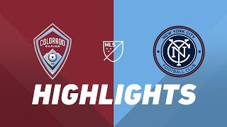 Colorado Rapids vs. NYCFC | HIGHLIGHTS - July 20, 2019