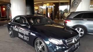 Coba Fitur Parkir Otomatis di Mercedez-Benz E-class Terbaru