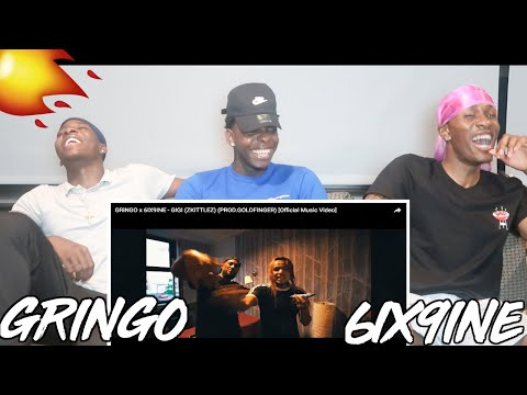 GRiNGO x 6IX9INE - GIGI (ZKITTLEZ) (PROD.GOLDFINGER) [Official Music Video] - REACTION