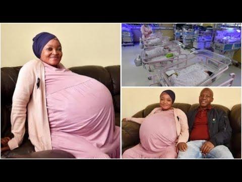 A ju kujtohet gruaja që lindi 11 njakë, ja çfarë ka ndodhur me fëmijët