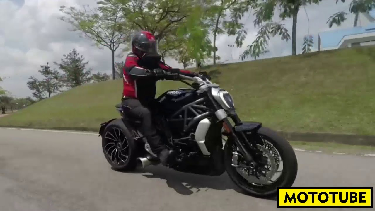 2018 Ducati Diavel Youtube