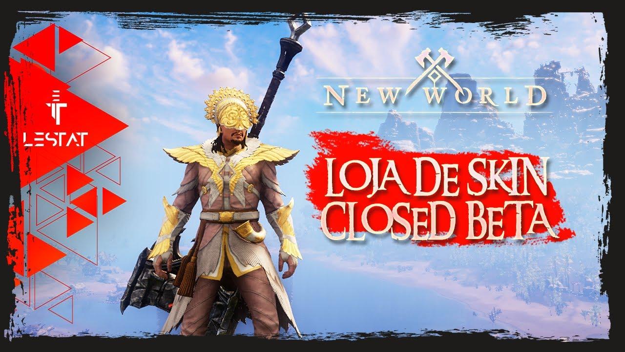New World MMO | Novos itens na LOJA DE SKINS em Teste no Closed Beta