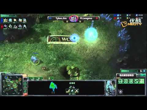 WCG2012外卡赛 6月27日SC2 JIM(P) vs LENGMO(T) (NeoTV)