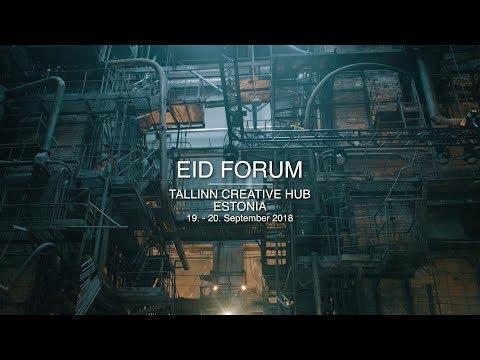 eID Forum in Tallinn Creative Hub (Kultuurikatel, Electronic identity, aftermovie 2018)