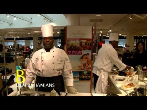 Bahamian Chef Devon Johnson and Brian Robinson at the Chef Week at Caribbean Week New York, 2014