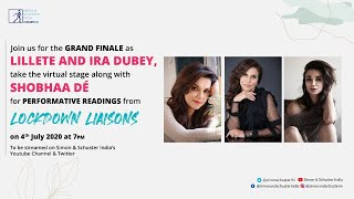 Performative Readings from Shobhaa De's Lockdown Liaisons by Lillete Dubey and Ira Dubey