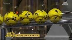 Eurojackpot - Ziehung vom 20. März 2020