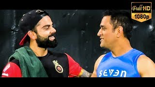Full HD : CSK vs RCB 1st Practice at Chepauk Stadium | MSD | Virat