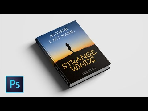 how to create a book cover design in photoshop cc