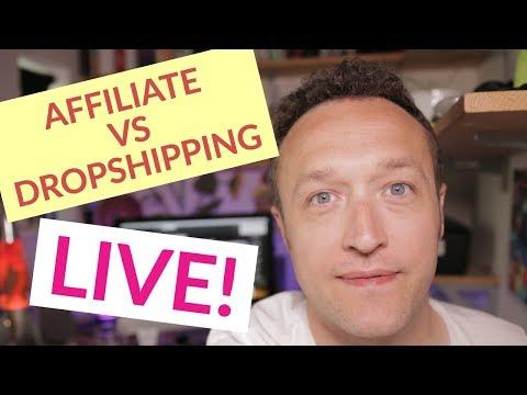 Affiliate Marketing VS Dropshipping – LIVE Q&A
