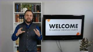 Jesus is the Alpha and Omega - Revelation 2:1-7 (Drew Carroll - July 19, 2020)