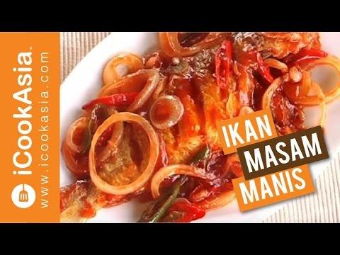 Resepi Ikan Masam Manis   Try Masak   iCookAsia