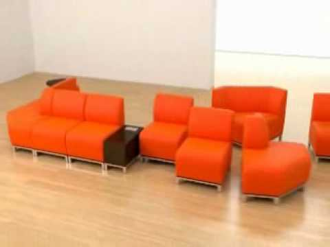 Swift Modular Lounge Seating From