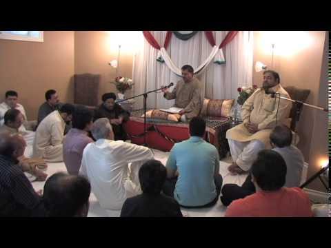Jashan-e-Sadiqain at the residence of Jamal Kazmi 20th June, 2014 Calgary