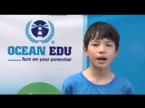 [Ocean Edu] Cậu bé 10 tuổi trở thành Quán Quân cuộc thi Vô địch tiếng Anh Cambridge Primary 2017