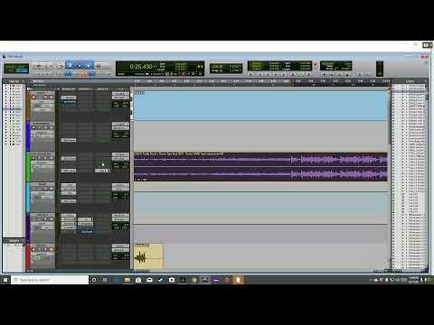 Pro Tools Tracking Vocals Recording