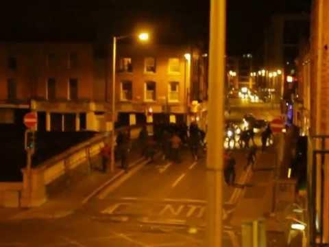 Dublin Gang Fight