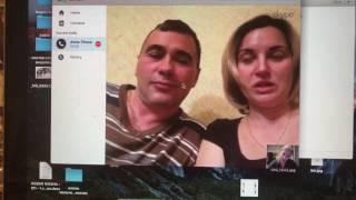 Абрамов + жена Аня