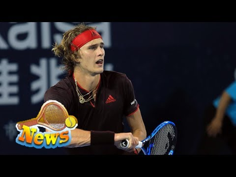 World number four alexander zverev beaten by damir dzumhur in china