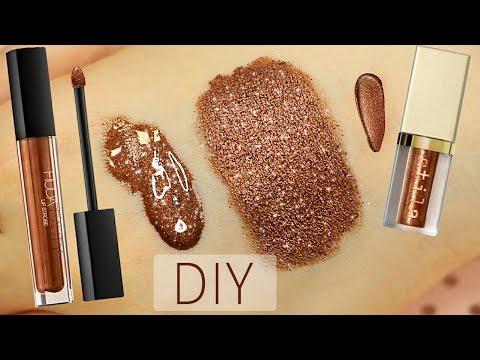DIY Stila Glitter & Huda Beauty Lip Strobe - Almost the Same Effect! | Melissa Samways - YouTube
