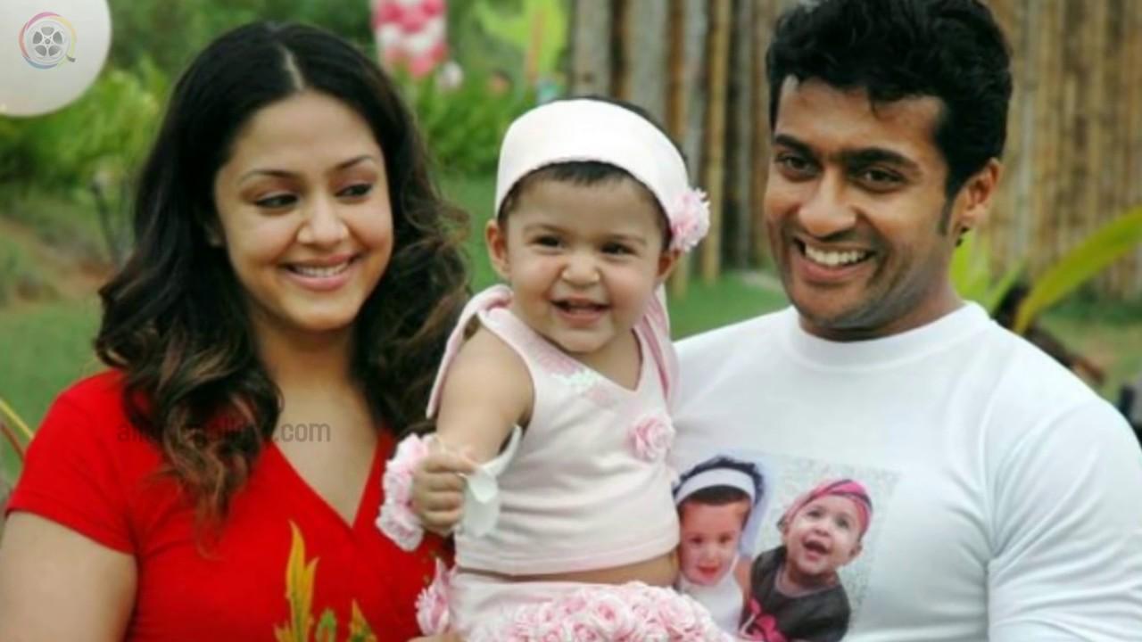Actress Jyothika Family Photos with Husband Daughter Son ...