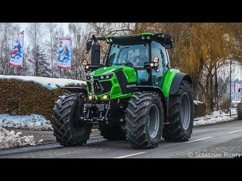 Deutz-Fahr Roadshow 2018 Hödl Landtechnik   NEW Series 6TTV   Series 9TTV