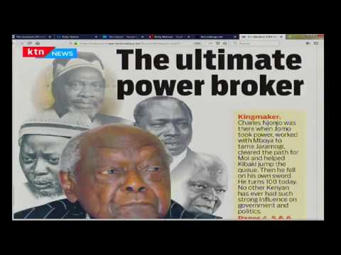Njonjo,the ultimate power broker who tamed Jaramogi and cleared the path for Moi | PRESS REVIEW