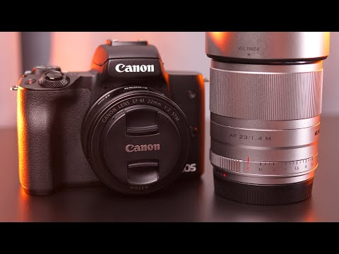 Canon 22mm f/2 vs. Viltrox 23mm f/1.4 | EF-M Lens Comparison