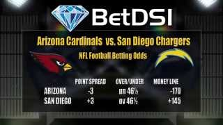 San Diego Chargers vs Arizona Cardinals Odds | NFL Betting Picks