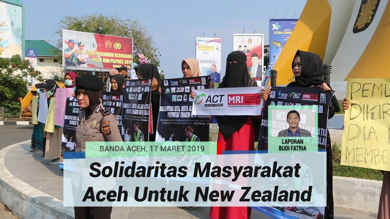Muslim Selandia Baru Image: Aceh Kutuk Pembantaian Muslim Di Selandia Baru