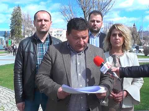 Изјава на Петар Ристески, координатор на советничката група предводена од ВМРО-ДПМНЕ