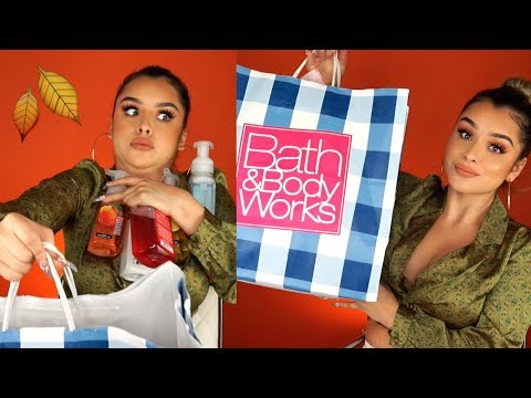 HUGE Fall Bath & Body Works Haul!! | Aidette Cancino thumbnail