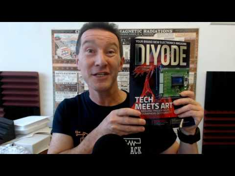 DIYODE - New Electronics Magazine!