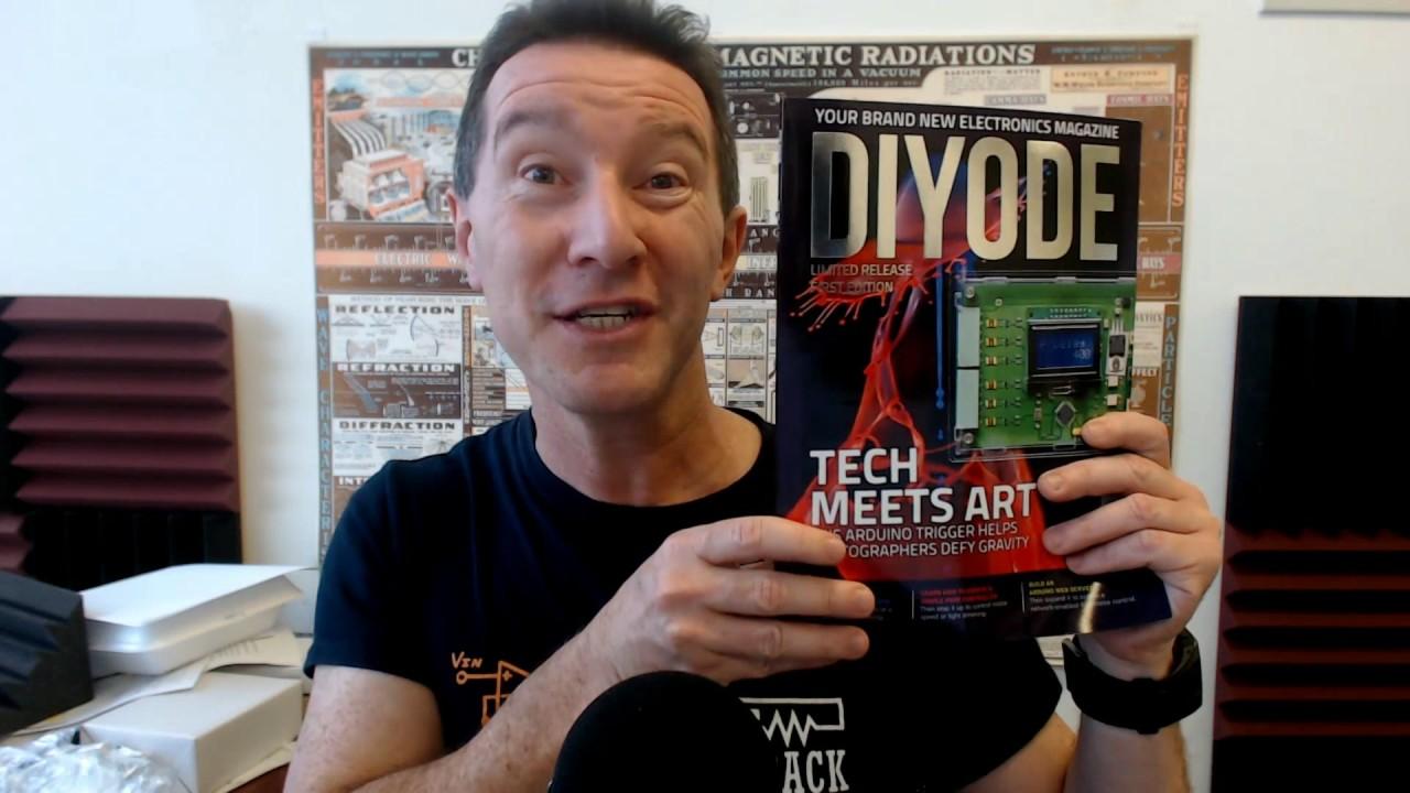 DIYODE - New Electronics Magazine!