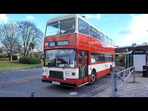 Southampton and District Transport Heritage Trust buses in Action 2017