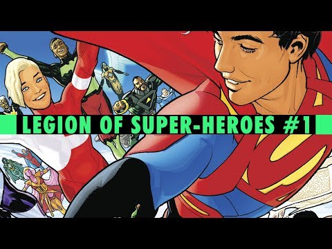 Welcome To New Earth | Legion Of Super-Heroes #1 Review