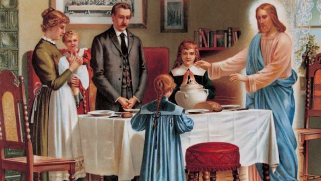 Modlitwa rodzinna przed posiłkiem - znasz ją ?