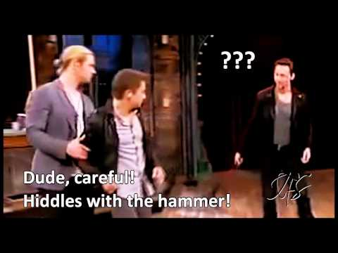 Tom Hiddleston inspired by Ace Ventura