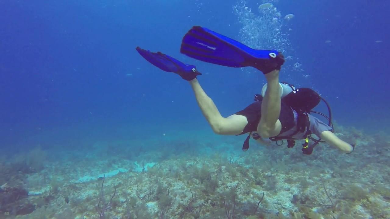 Flutter Kick for Diving