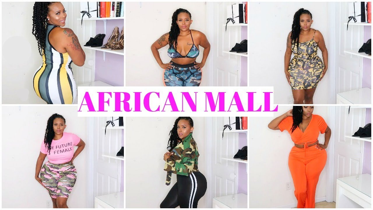 e13120a27ce4f AFFORDABLE PLUS SIZE CURVY GIRL TRY ON HAUL FT. AFRICAN MALL ...