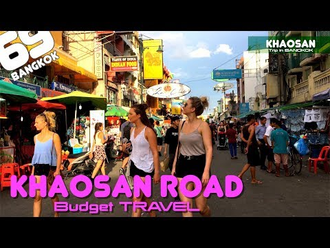 Khaosan Road / Tourist Spot