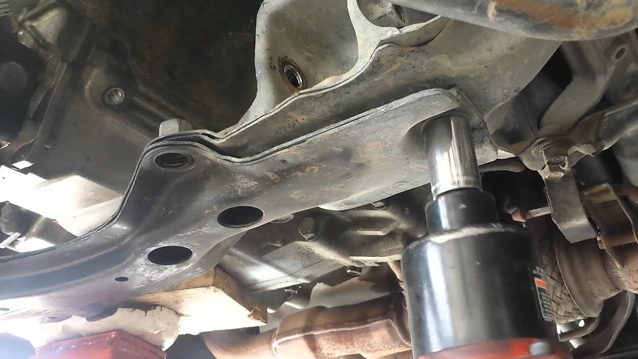 Acura TL transmission removal 99-03 Part 2 of 2 - YouTube