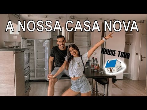 EMPTY HOUSE TOUR - A NOSSA CASA EM PARIS | ARIAM thumbnail