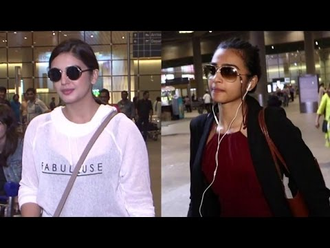 Huma Qureshi And Radhika Apte Spotted At...