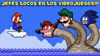 Los 8 Jefes de Videojuegos más Locos y Extraños - Pepe el Mago