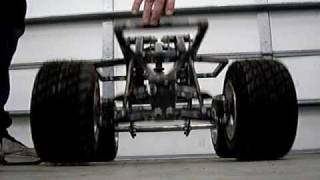 Home Made Giant Scale Rc Car #8, Home Made Large Scale Rc Car Suspension, Drop Test.