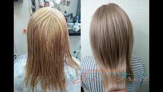 видео Тонирование волос